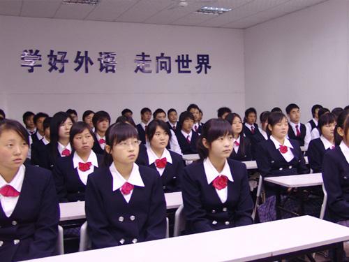 邵阳服装设计培训学校--学生听课